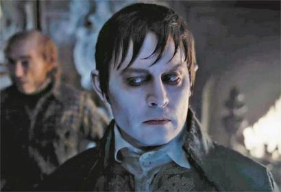 Johnny Depp dans Dark Shadows.