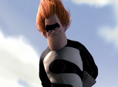 Syndrome, le méchant dans le film Pixar Les Indestructibles