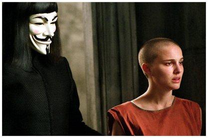 Les personnages principaux du film V pour Vendetta