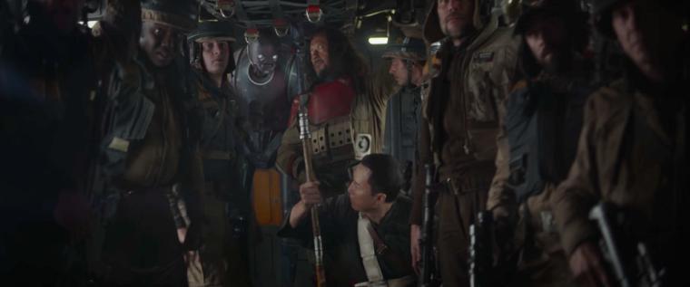 Un commando de rebelles sur le point de partir en mission.