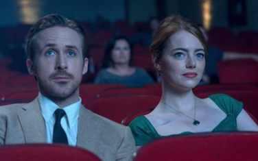 Ryan Gosling et Emma Stone au cinéma.