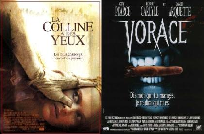 Les affiches du remake de La Colline a des Yeux et de Vorace