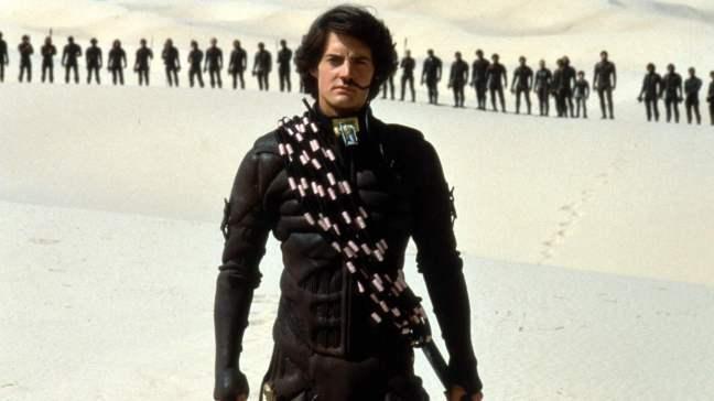 Paul Atreides incarné par Kyle MacLachlan dans l'adaptation de Dune par David Lynch