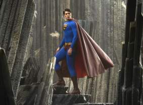 Superman incarné par Brandon Routh dans Superman Returns de Bryan Singer