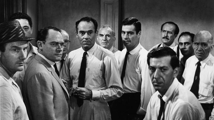 Le jury, composé uniquement d'hommes blancs.