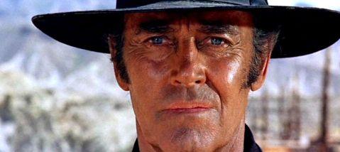 Henry Fonda dans Il était une fois dans l'Ouest de Sergio Leone
