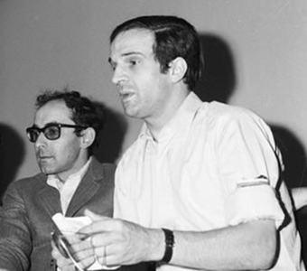 Jean Luc Godard et François Truffaut