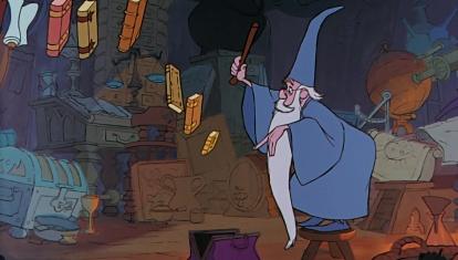 Merlin l'enchanteur vu par les studios Disney