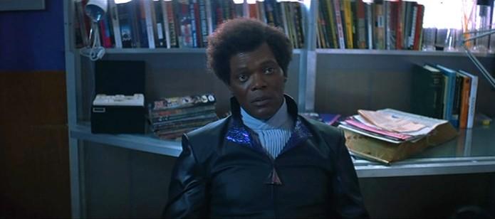Samuel L Jackson incarnant Elijah Price (aka Mr. Glass) dans Incassable, de M Night Shyamalan