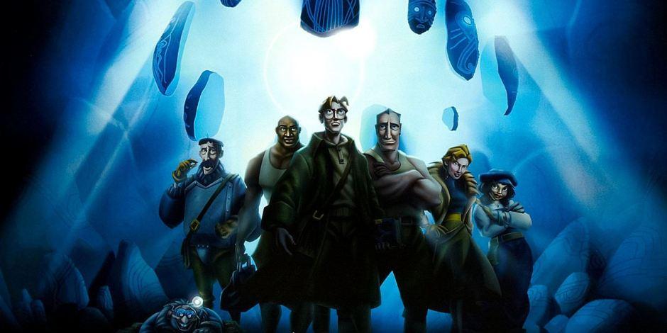Poster du film Atlantide l'Empire Perdu des studios Disney