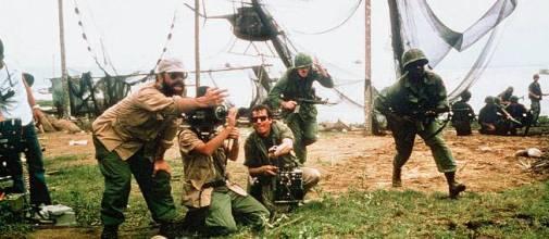 Francis Ford Coppola sur le tournage d'Apocalypse Now