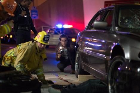 Jake Gyllenhaal filmant un cadavre dans Night Call de Dan Gilroy