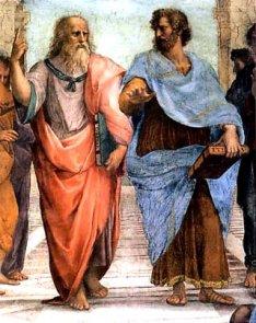 L'Ecole d'Athènes, fresque de Raphaël (1509x1511)
